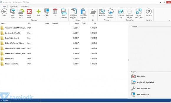 Ashampoo Zip Free Ekran Görüntüleri - 1