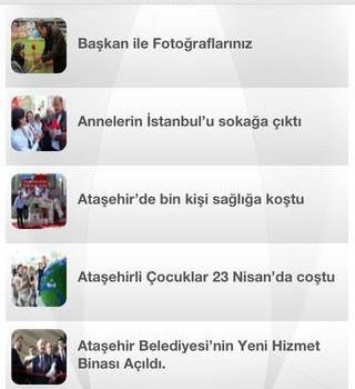 Ataşehir Belediyesi Ekran Görüntüleri - 2