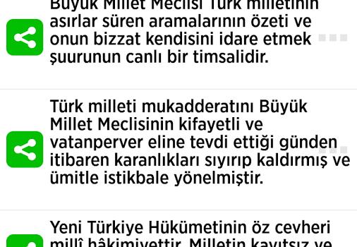 Atatürk Sözleri Ekran Görüntüleri - 1