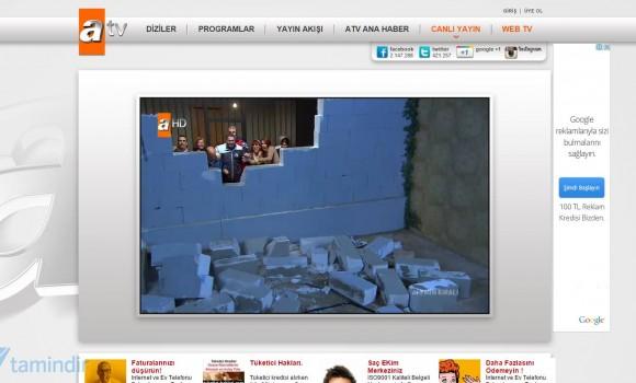 ATV Canlı Yayın İzle Ekran Görüntüleri - 1