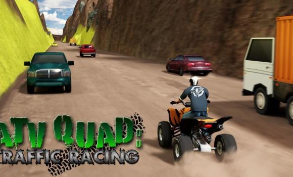 ATV Quad Traffic Racing Ekran Görüntüleri - 6