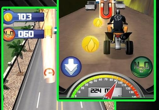 ATV Quad Traffic Racing Ekran Görüntüleri - 3