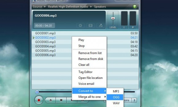 Audio Record Wizard Ekran Görüntüleri - 3