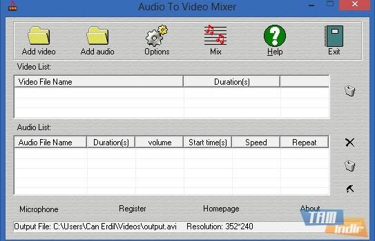 Audio To Video Mixer Ekran Görüntüleri - 1