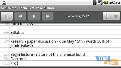 AudioNote Ekran Görüntüleri - 2