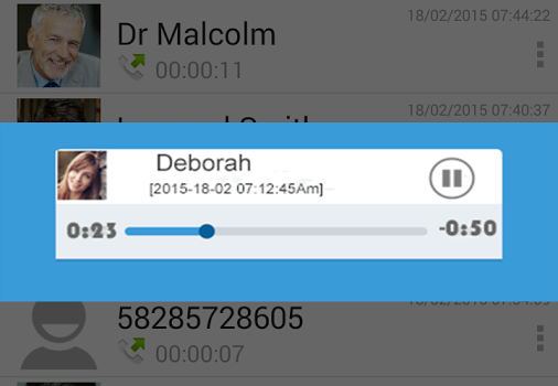 Auto Call Recorder Ekran Görüntüleri - 1
