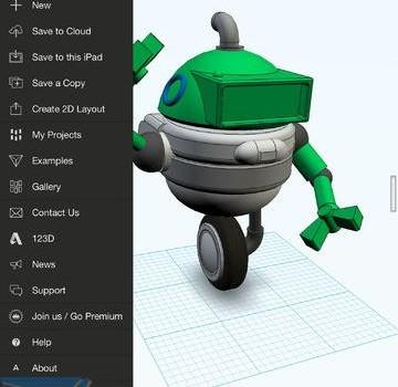 Autodesk 123D Design Ekran Görüntüleri - 2