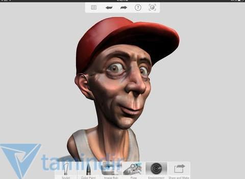 Autodesk 123D Sculpt+ Ekran Görüntüleri - 4