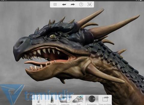 Autodesk 123D Sculpt+ Ekran Görüntüleri - 2