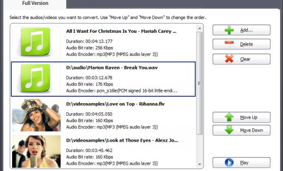 AV Media AV Audio Converter Ekran Görüntüleri - 3