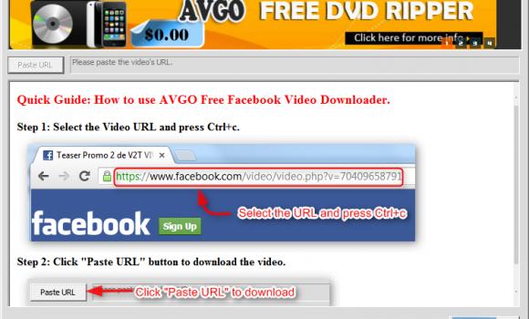 AVGO Free Facebook Video Downloader Ekran Görüntüleri - 3