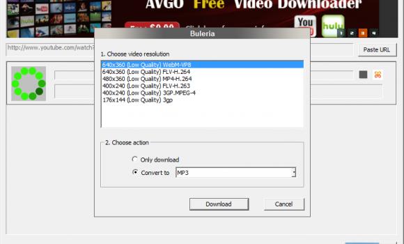 AVGo Free Video Downloader Ekran Görüntüleri - 1