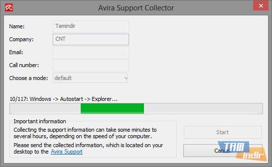 Avira AntiVir Support Collector Ekran Görüntüleri - 1