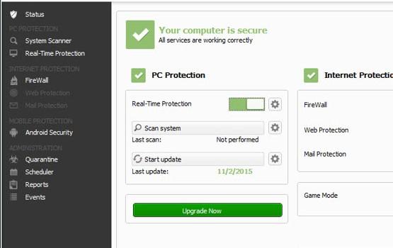 Avira Free Security Suite Ekran Görüntüleri - 1