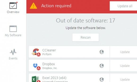 Avira Free Software Updater Ekran Görüntüleri - 1