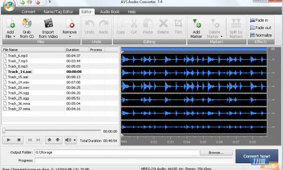 AVS Audio Converter Ekran Görüntüleri - 1