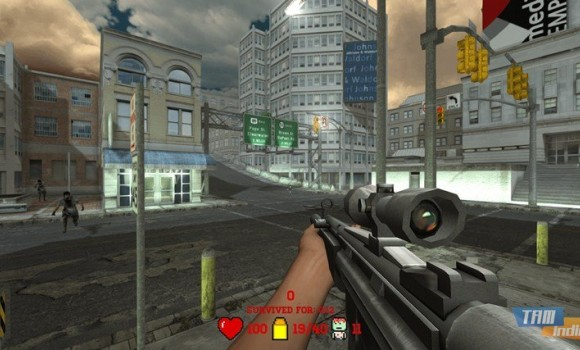 Awesome Zombie Sniper Ekran Görüntüleri - 1