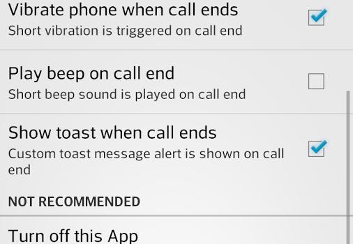 Back Key End Call Ekran Görüntüleri - 2