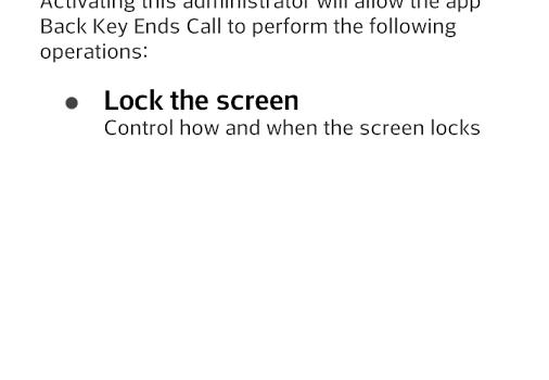 Back Key End Call Ekran Görüntüleri - 1