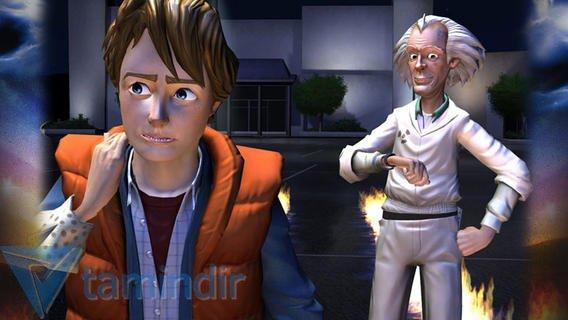 Back to the Future: The Game Ekran Görüntüleri - 5