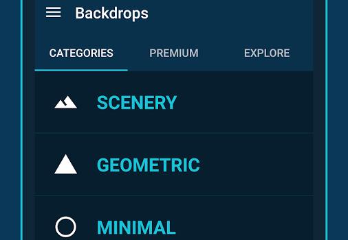Backdrops Ekran Görüntüleri - 2