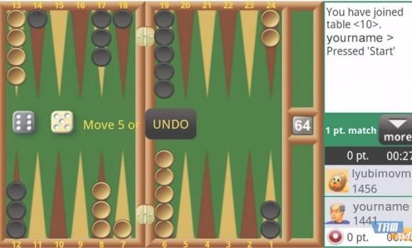 Backgammon Live Online Ekran Görüntüleri - 2