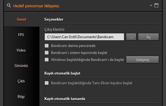 Bandicam Ekran Görüntüleri - 9