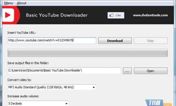Basic YouTube Downloader Ekran Görüntüleri - 1