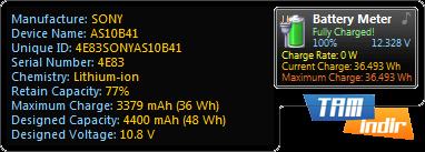 Battery Meter Ekran Görüntüleri - 1