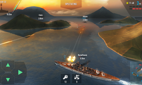 Battle of Warships Ekran Görüntüleri - 1