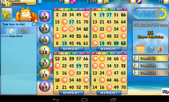 Bingo Beach Ekran Görüntüleri - 1