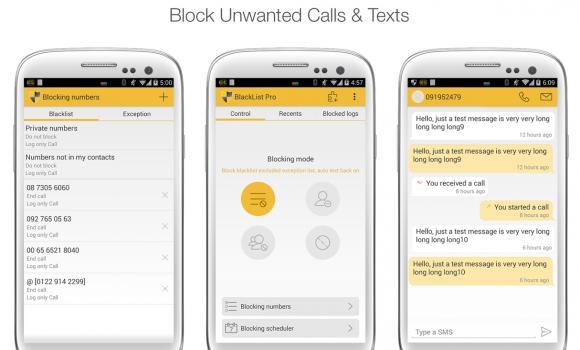 Blacklist - Call Blocker Ekran Görüntüleri - 5
