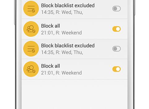 Blacklist - Call Blocker Ekran Görüntüleri - 1