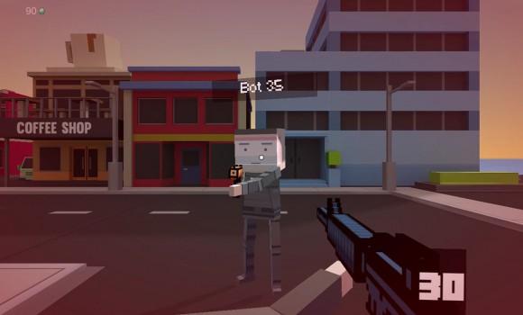 Block Robot Mini Survival Game Ekran Görüntüleri - 6