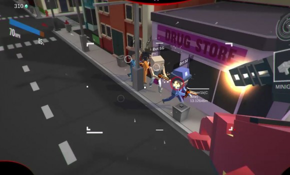 Block Robot Mini Survival Game Ekran Görüntüleri - 3