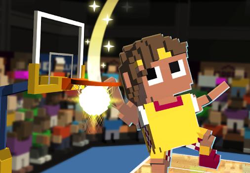 Blocky Basketball Ekran Görüntüleri - 2