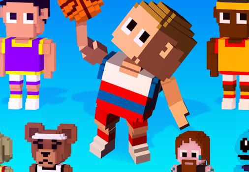Blocky Basketball Ekran Görüntüleri - 1