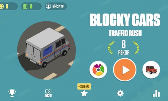 Blocky Cars: Traffic Rush Ekran Görüntüleri - 7