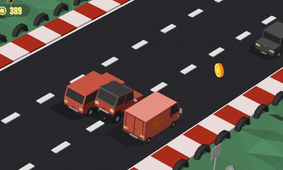 Blocky Cars: Traffic Rush Ekran Görüntüleri - 5