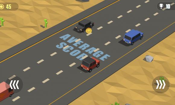 Blocky Cars: Traffic Rush Ekran Görüntüleri - 3