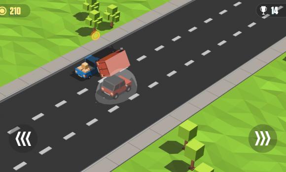 Blocky Cars: Traffic Rush Ekran Görüntüleri - 2