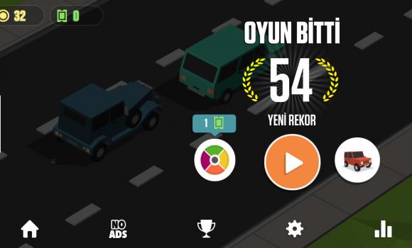 Blocky Cars: Traffic Rush Ekran Görüntüleri - 1