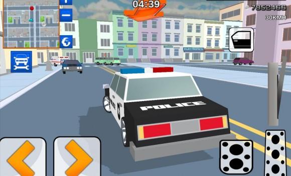 Blocky Cop Craft Running Thief Ekran Görüntüleri - 5
