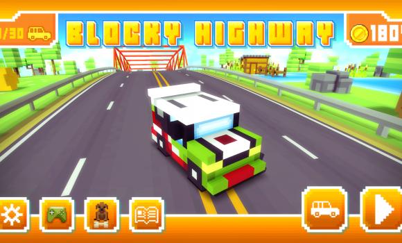 Blocky Highway Ekran Görüntüleri - 5