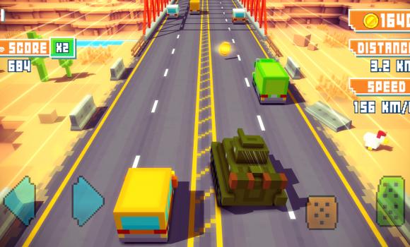 Blocky Highway Ekran Görüntüleri - 3