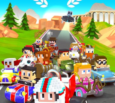 Blocky Racer Ekran Görüntüleri - 1