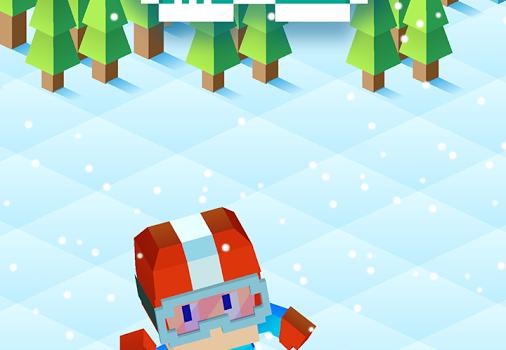 Blocky Snowboarding Ekran Görüntüleri - 5