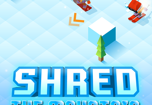 Blocky Snowboarding Ekran Görüntüleri - 4