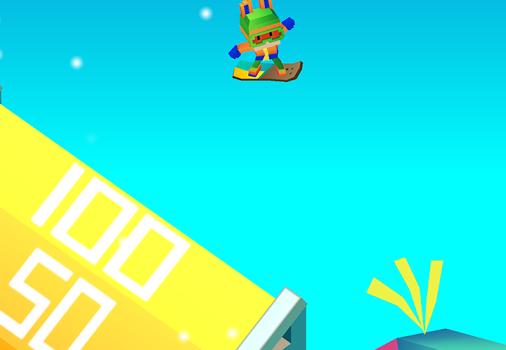 Blocky Snowboarding Ekran Görüntüleri - 2