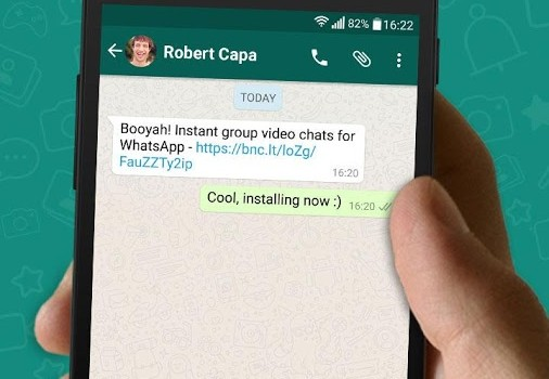 Booyah Video Chat for WhatsApp Ekran Görüntüleri - 1